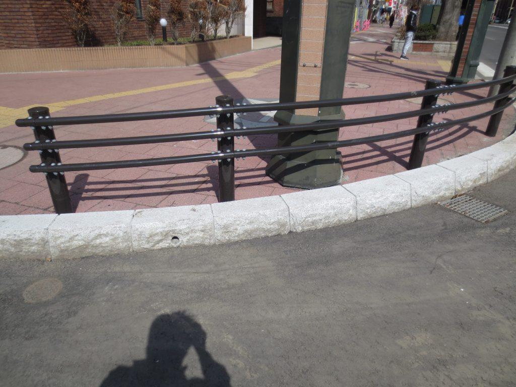 札幌市街-縁石